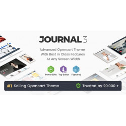 Journal - Advanced Opencart Theme v3.1.8